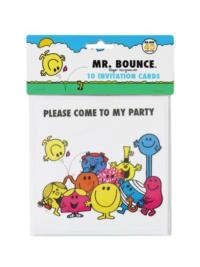 Mr Men Invitations