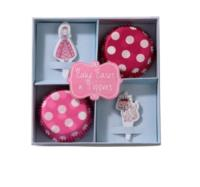 Princess Cupcake Cases & Toppers