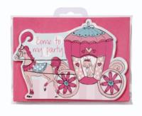 Princess Party Postcard Invitations 10Pk