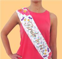 Utterly Scrumptious Hen Party Sash