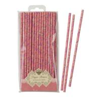 Truly Scrumptious Floral Straw