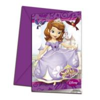 Sofia The First Invitations & Envelopes
