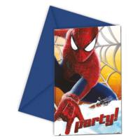 Spiderman 2 Party Invites