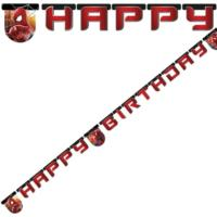 Spiderman 2 Happy Birthday Letter Banner