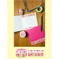 Happy Birthday Hearts Tape Set