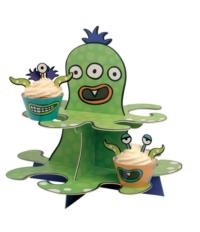 Monster Madness - Cupcake Stand