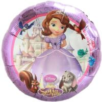 Sophia the First Foil Balloon