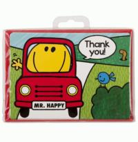 Mr Men Travel Thank you Postcards