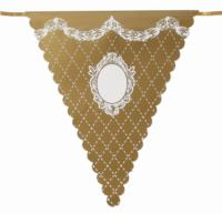 Party Porcelain Gold Bunting