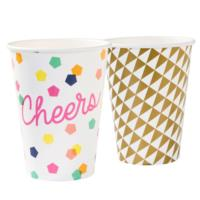 Large Party Time Cups