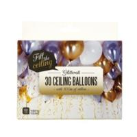 Ceiling Balloons and Curling Ribbon