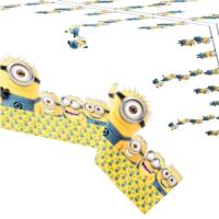 Minions Plastic Tablecover