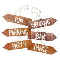 Blossom & Brogues Venue Signs