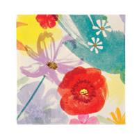 TS Painted Flowers Small Napkin