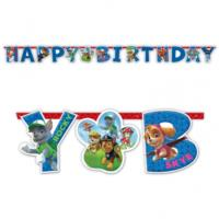 Paw Patrol HB Letter Banner 1.6m