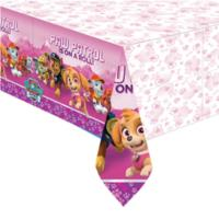 Pink Paw Patrol Plastic Tablecover