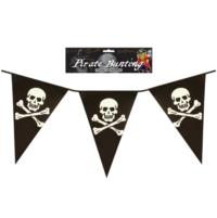 Pirate Flag Plastic Bunting