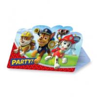 Paw Patrol Party Invitation Cards