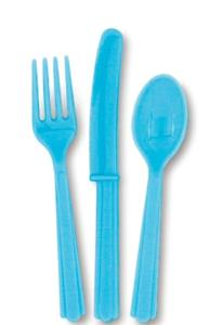 Powder Blue Cutlery