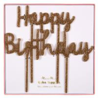 Happy Birthday Acrylic Toppers