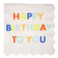 Happy Birthday to You LG Napkin