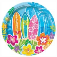 Hula Beach Party Plates 7