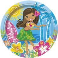Hula Beach Party Plates 9