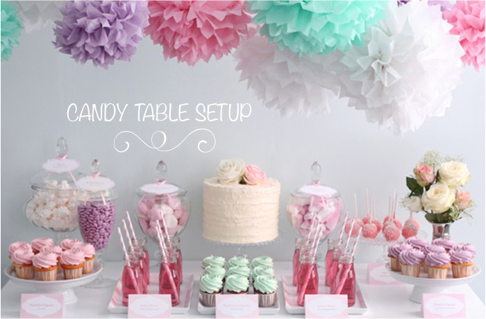 party supplies dubai party camel rh partycamel com Candy Buffet Setup Candy Table Setup Ideas