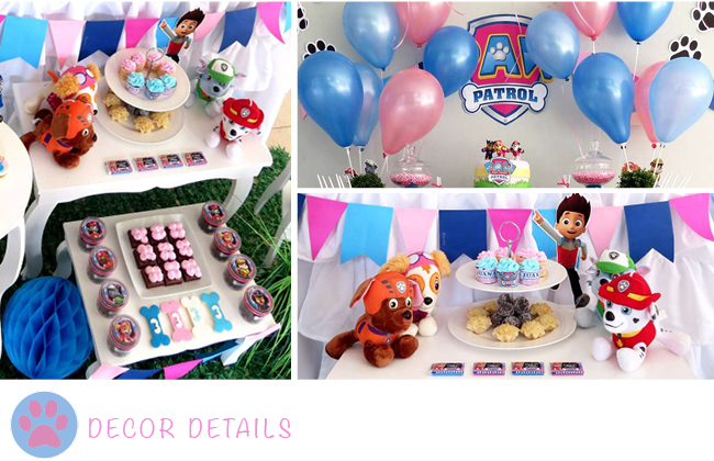 When You Think About A Paw Patrol Party Are Most Likely To Red Yellow And Blue With This Setup Will Have Put Your Pink More