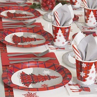 Rustic Plaid Christmas