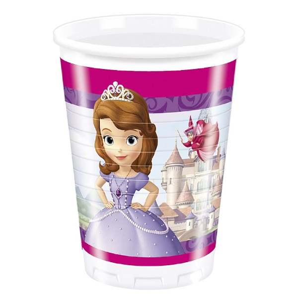 Sofia The First Plastic Cups
