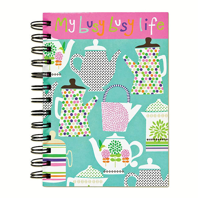 My Busy Life Journal /Teapots