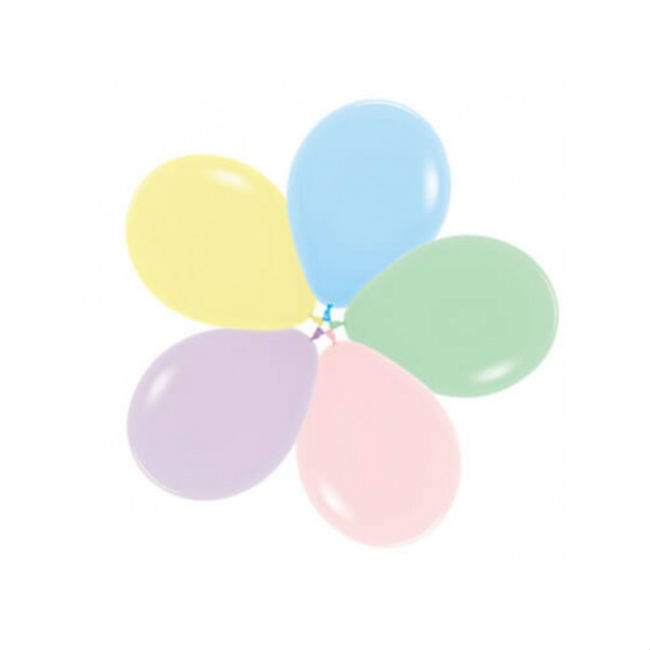 Pastel Assorted Balloon Pack