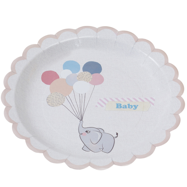 Little One Paper Plates