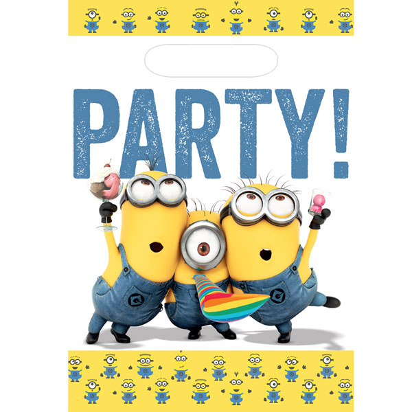 Party Camel Minions Party Bags