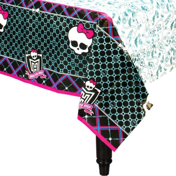 Monster High Paper Table Cover