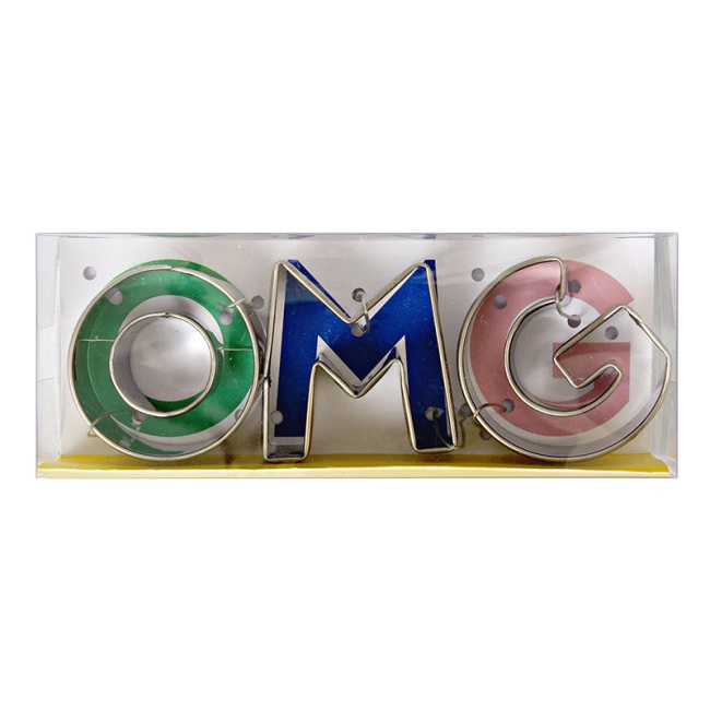 OMG! Cookie Cutters
