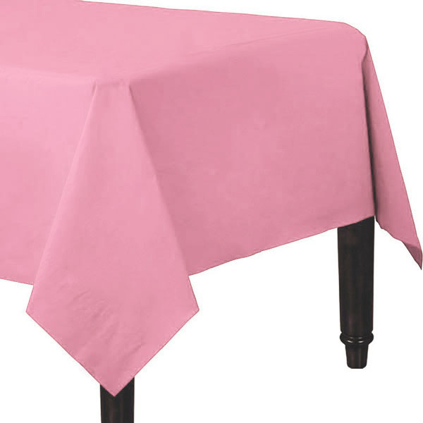 Baby Pink Table Cover - 3 Ply