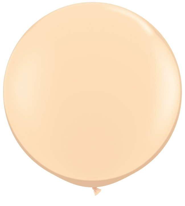 Round Blush Balloon 36