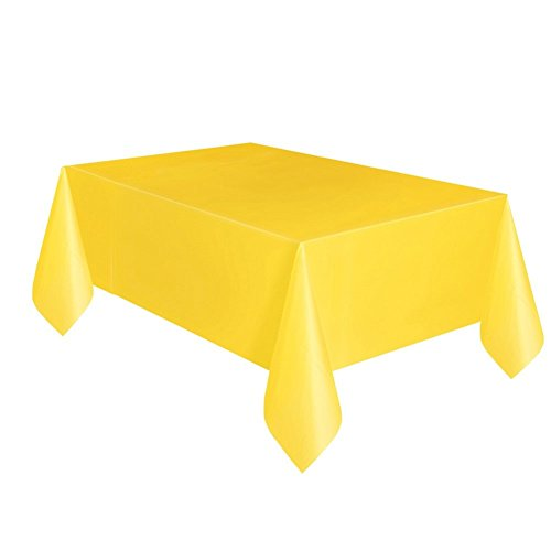 Sunshine Yellow Table Cover