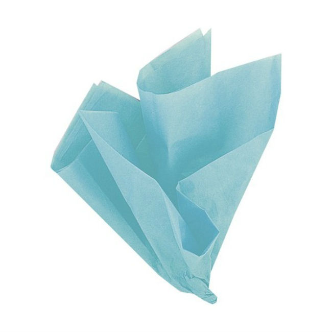 10 Teal Green Tissue Sheets