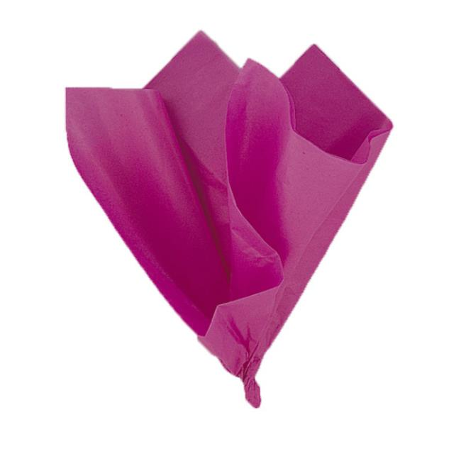10 Hot Pink Tissue Sheets