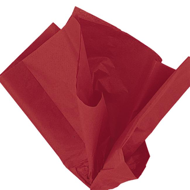 10 Red Tissue Sheets