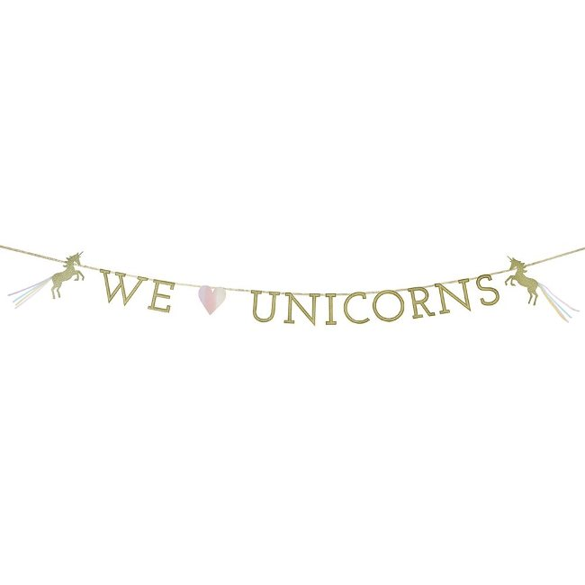 We Heart Unicorn Magical Garland