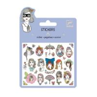 Portraits Glitter  Stickers