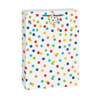 Rainbow Polka Dots Jumbo Gift Bag