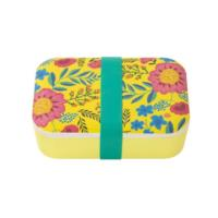 Boho Floral Design Eco Lunch Box