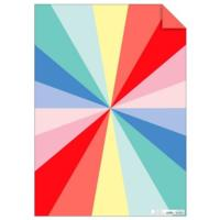 Colour Wheel Gift Wrap Sheets