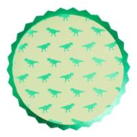 Dinosaur Paper Party Plates