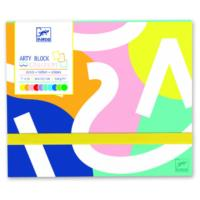 Arty Block - Coloured Paper